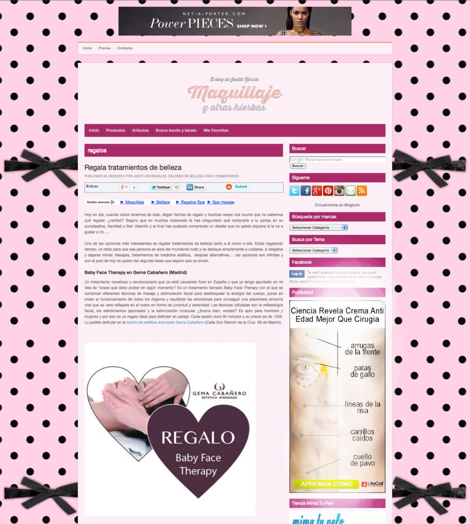Entrada blog de maquillaje febrero 2014