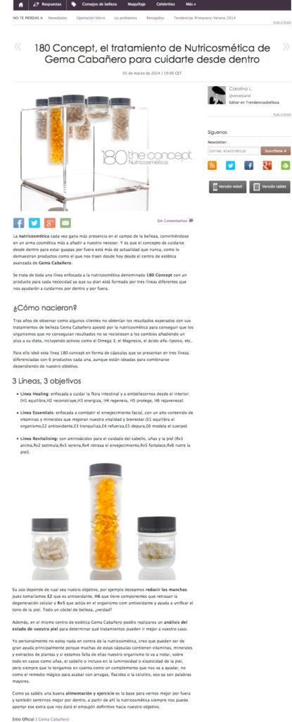 180 The Concept Trendencias Marzo 2014