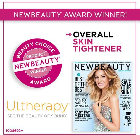 Lifting sin cirugía Ultherapy premiado por New Beauty