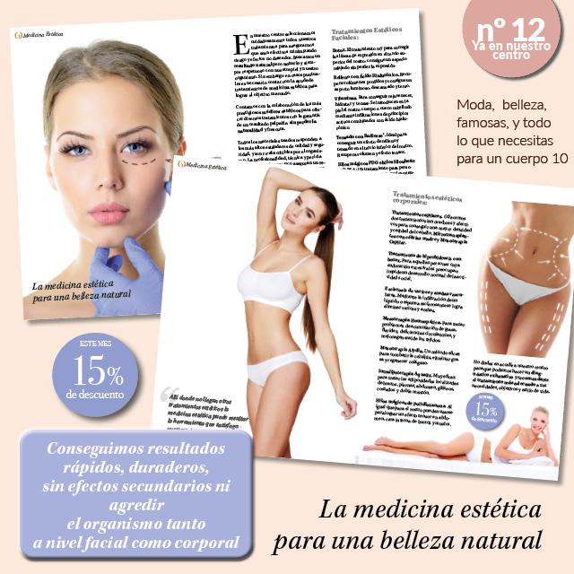La medicina estética para una belleza natural. Promociones Septiembre.