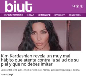 trucos de belleza de Kim Kardashian